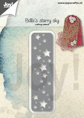Joy Crafts - Joy! stencil Bille's sterrenhemel 6002/1398