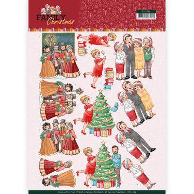CD11389 3D Knipvel - Yvonne Creations- Celebrate Christmas