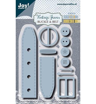 Joy! stencil- Noor - Vintage gesp + riem6002/1385