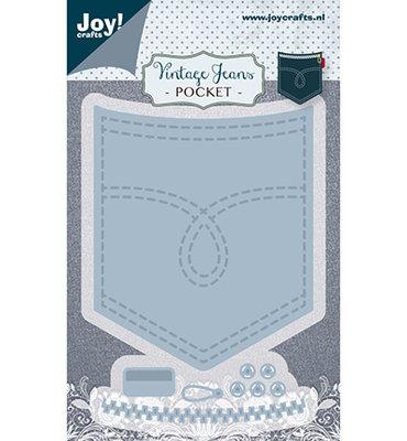 Joy! stencil- Noor - Vintage broekzak6002/1388