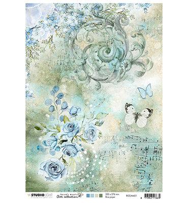 RICEJMA02 - Rice Paper, Jenine's Mindful Art nr.01