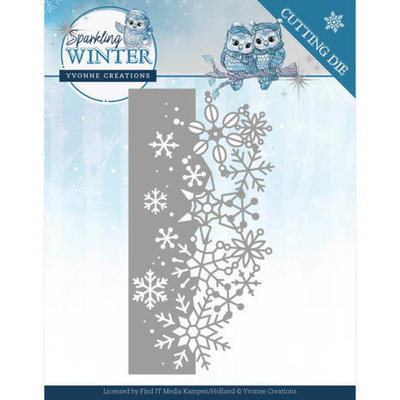 YCD10189 Dies - Yvonne Creations - Sparkling Winter - Sparkling Border
