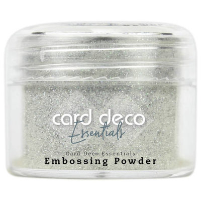 Card Deco Essentials - Embossing Powder Glitter White 30 Gr