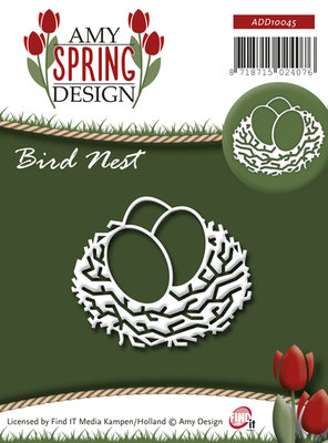 Die - Amy Design - Spring - Bird Nest