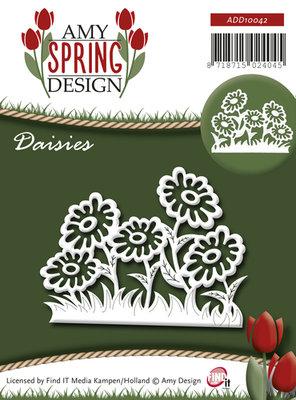 Die - Amy Design - Spring - Daisies