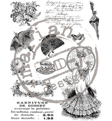 Marianne design - Clear stamp - Victorian ladies 2 - CS0864