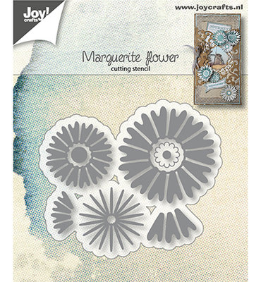 Joy! stencil- Margriet bloem 6002/1412