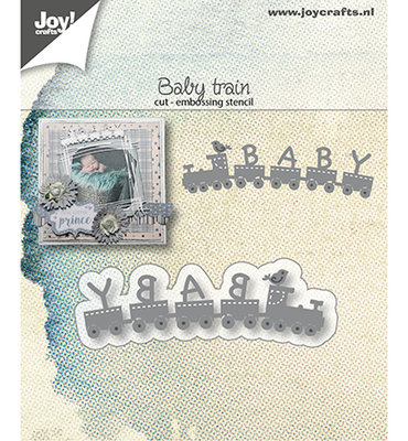 Joy! stencil- Baby-trein - 6002/1407