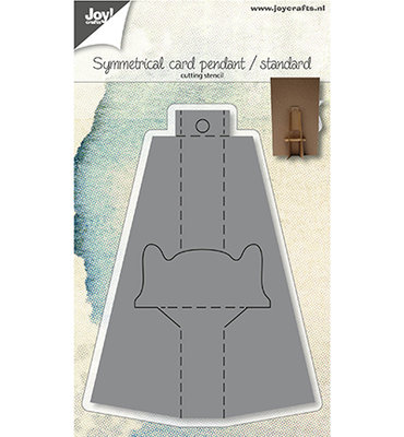 Joy! stencil- Kaarthanger/standaard-symmetrisch - 6002/1406