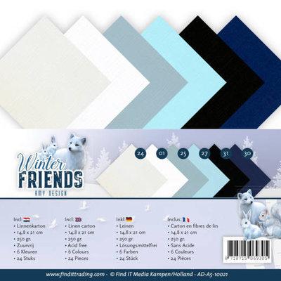AD-A5-10021 Linnenpakket - A5 - Amy Design - Winter Friends