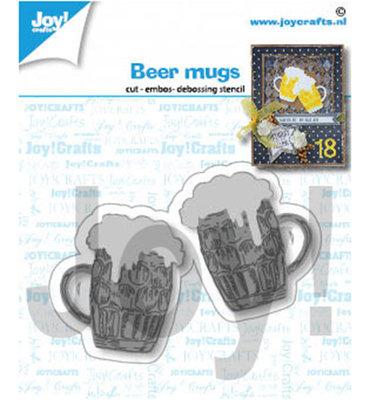 Joy! stencil-  Bier mokken - 6002/1421