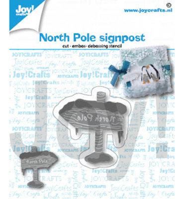 Joy! stencil-  Noordpool bord - 6002/1419