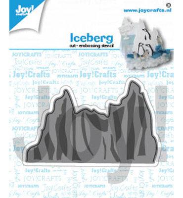 Joy! stencil-  Ijsberg- 6002/1418