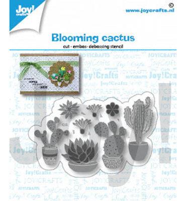 Joy! stencil-  Bloeiende cactussen - 6002/1416