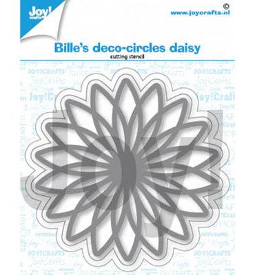 Joy! stencil- Bille Deco- Circles Daisy - 6002/1401