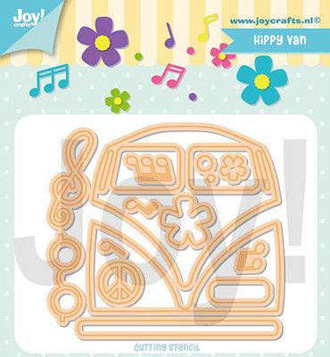 Joy! stencil- Jocelijne - Hippie-bus- 6002/1365