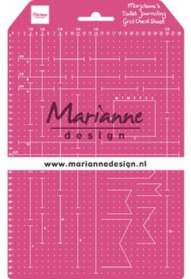 Marianne D - Tools -  Marjoleine's Grid Cheat Sheet - LR0030 149x237mm