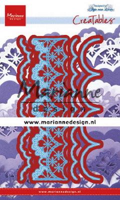 Marianne desgn - LR0637 - Creatables stencil - Anja's mix and match edge