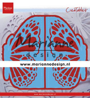 Marianne desgn - LR0638 - Creatables stencil - Gate folding die Butterfly