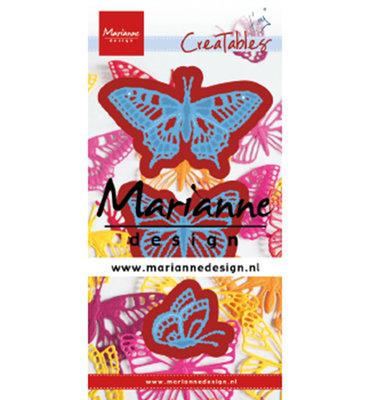 Marianne desgn - LR0509 - Creatables stencil - Tiny's butterflies set