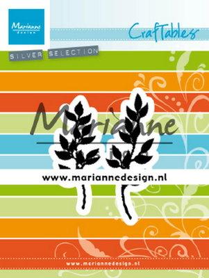 Marianne desgn - CR1494 - Craftables stencil - Natural twigs