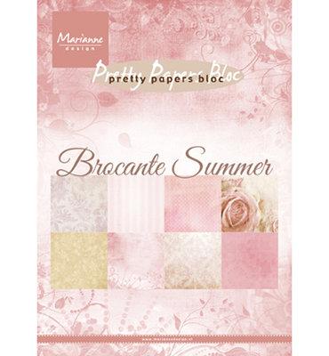 Marianne design - Pretty Papers bloc -  PK9166 - Brocante summer