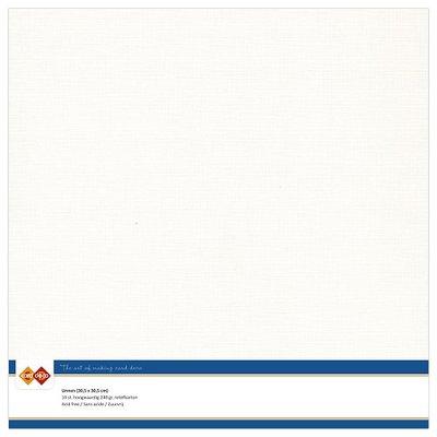 LKK-SC32 Linnenkarton - 30.5 x 30.5 - Gebroken wit
