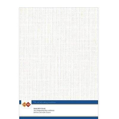 LKK-A432 Linnenkarton - A4 - Gebroken wit