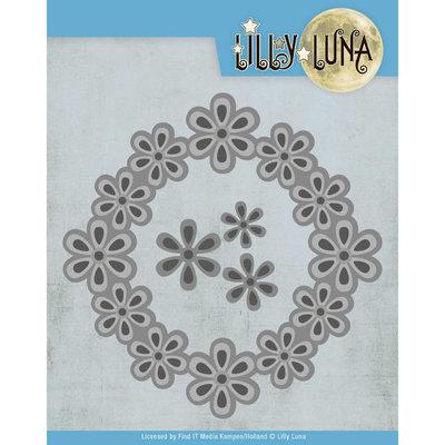 LL10006 Snijmal - Lilly Luna - Pop Up Bloemenframe