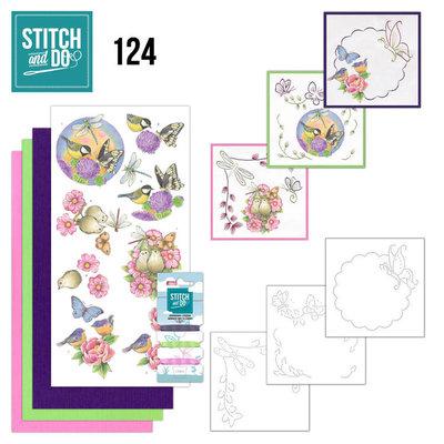 STDO124 Stitch and Do 124 - Happy Birds