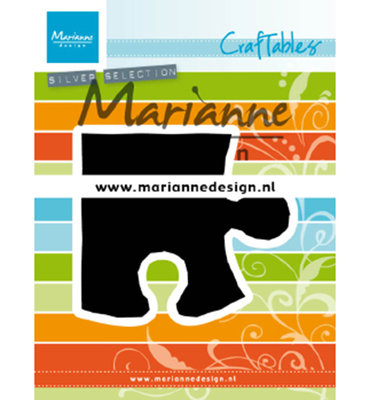 Marianne desgn - CR1491 - Craftables stencil - Puzzle piece