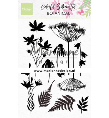 Clear stamp - Colorful Silhouette - Botanical CS1048