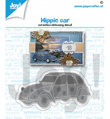 Joy! stencil- Hippie auto - 6002/1431