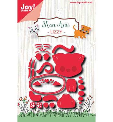 Joy! stencil Mon Ami - Poes Lizzy6002/1426