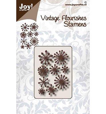 Joy! stencil 6003/0096 - stencil vintage flourishes Meeldraden