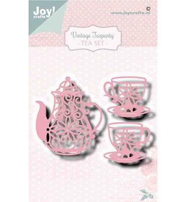 Joy! stencil- Noor - Vintage Teaparty - 6002/1470
