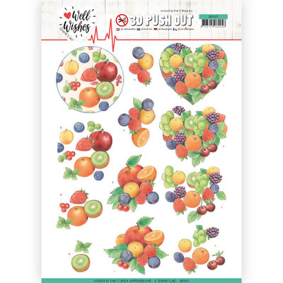 SB10427 3D Pushout - Jeanine's Art - Well Wishes - Fruits