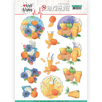 SB10429 3D Pushout - Jeanine's Art - Well Wishes - Pills and Vitamins