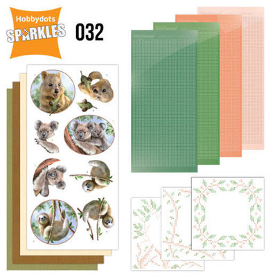 SPDO032 Sparkles Set 32 - Amy Design - Wild Animals - Outback