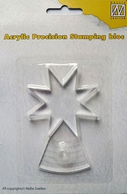 Acryl bloc voor precision stamps, APSB001