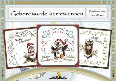 Hobbydols, Geborduurde kerstwensen 129