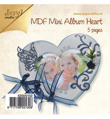 Joy - mdf Mini Album Heart