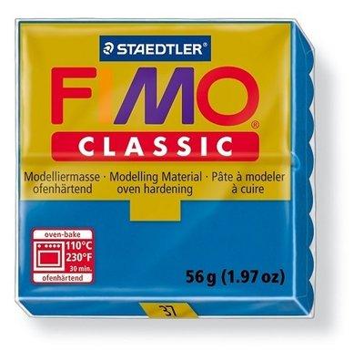 Fimo classic boetseerklei 56 g blauw