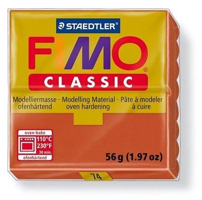 Fimo classic boetseerklei 56 g terracotta