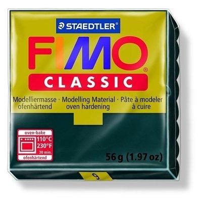 Fimo classic boetseerklei 56 g zwart
