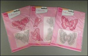 Marianne desgn, Collectables pakket 3x vlinder