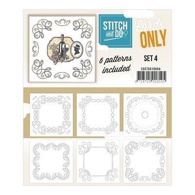 Stitch & do, Cards only set 4