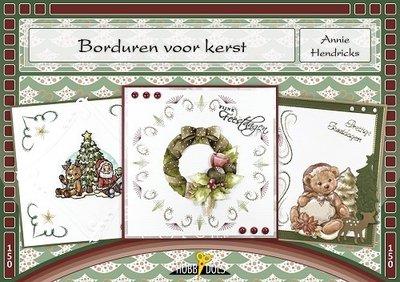 Hobbydols, Borduren voor kerst