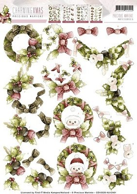 CharmingXmas - Wreaths cd10526