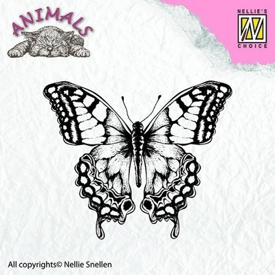 Clear stamps - Animals - Butterfly